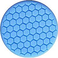 Chemical Guys Hex-Logic-Pad, Almohadilla para Limpieza Liviana, glaseado y Mejora de Brillo, Azul, 7.5 Inch