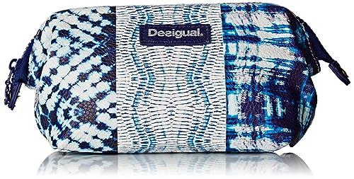Desigual Pouch_Ligero TYE Dye, Monedero para Mujer, Azul (5001) 12x12x17 cm (B x H x T)