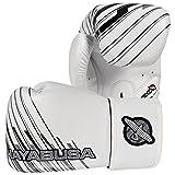 Hayabusa Ikusa Charged Gloves, White/Grey, 12 oz