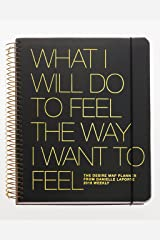 The Desire Map Planner from Danielle LaPorte 2018 Weekly (Charcoal & Gold) Hardcover
