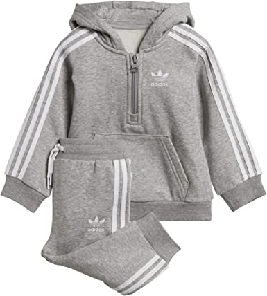 adidas Fleece Hz Hood Chándal, Unisex niños: Amazon.es: Ropa y ...