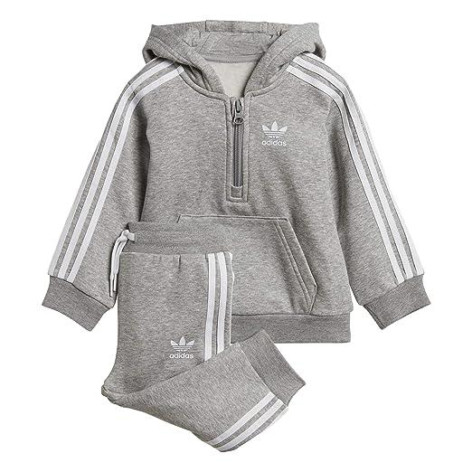 adidas Originals Baby Jungen (0-24 Monate) Sweatanzug Grau grau
