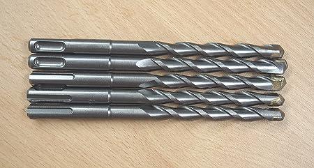 SDS Plus 5//32 X 6 Rotary Masonry Drill Bit Carbide Tip Lot of 5