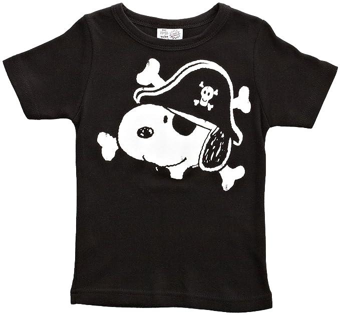 Logoshirt - Camiseta con Estampado de Snoopy con Cuello Redondo para niño bddd29337ff65