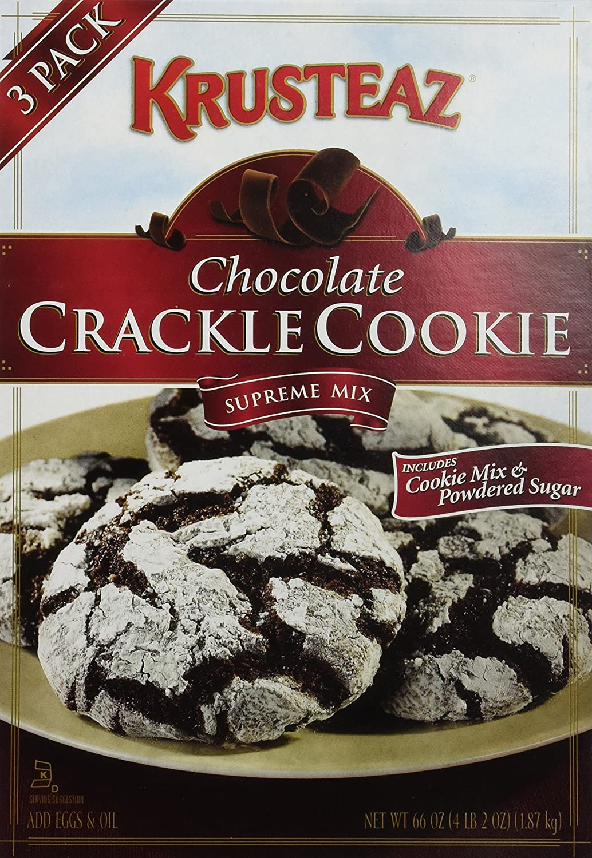 Amazon.com : Krusteaz Chocolate Crackle Cookie Supreme Mix 66 ...