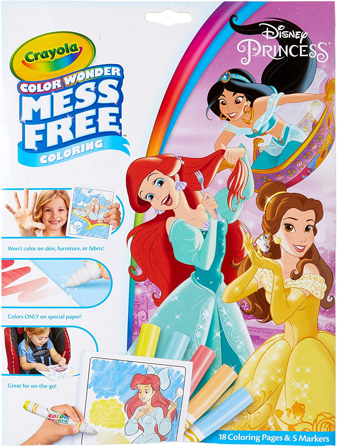 Disney Princess Mess Free Coloring Pages
