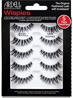 69e806a8aca 6 Pack) ARDELL Professional Natural Multipack - Demi Wispies Black ...