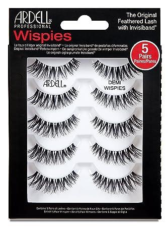 3ca8ae5f55f Ardell Multipack Demi Wispies (x5): Amazon.co.uk: Beauty