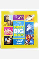 Little Kids First Big Book Collector's Set of Animals, Space and Why? Hardcover