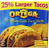 Ortega Taco Shells, Yellow Corn, 12 ct