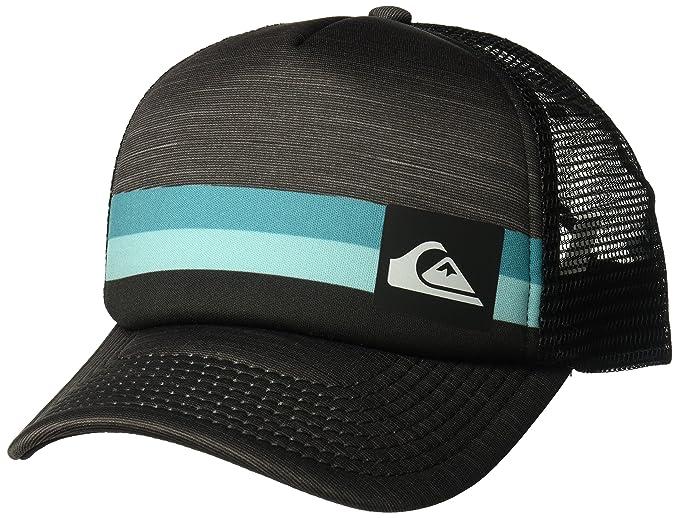 07180226cf9de ... aliexpress quiksilver mens seasons cap trucker hat black 1sz 1e630 bfde5