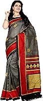 Samskruti Sarees Raw Silk Saree (Sspee-5551_Multicolor)
