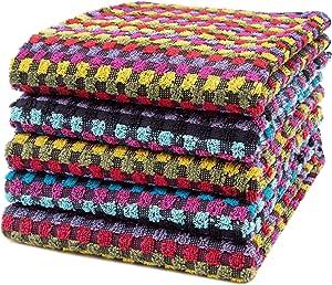 ZOLLNER 5 Trapos de Cocina de Rizo, 45x90 cm, Multiusos, algodón 100%: Amazon.es: Hogar