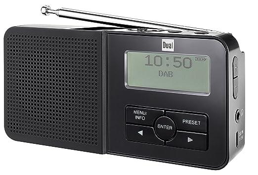 Dual Dab Pocket - Radio (Portátil, Analógico y Digital, Dab,Dab+,FM,PLL, 87,5-108 MHz, 174-240 MHz, LCD)