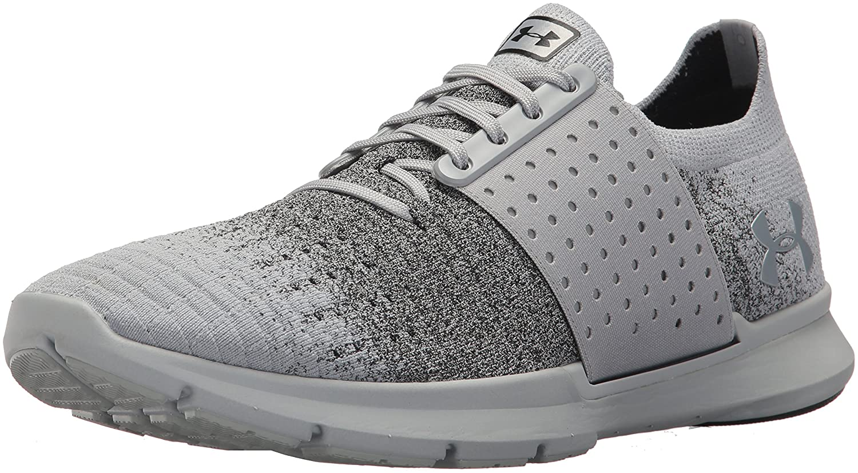 Under Armour Men's Speedform Slingwrap Fade Running Shoe B0711HXTX3 9.5 M US|Overcast Gray (105)/Elemental