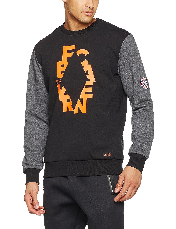 Adidas Herren FC Bayern München Graphic Sweatshirt