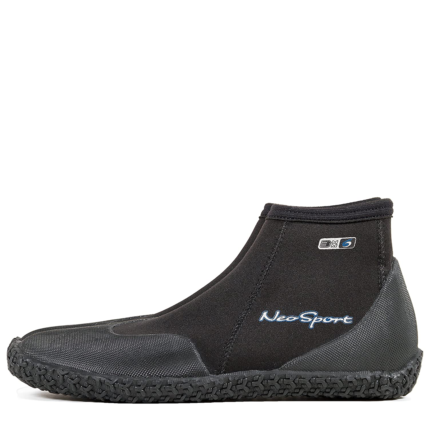 9dbd5a62dad9 Amazon.com   NeoSport Wetsuits Premium Neoprene 3mm Low Top Pull On Boot   Scuba  Boots   Sports   Outdoors