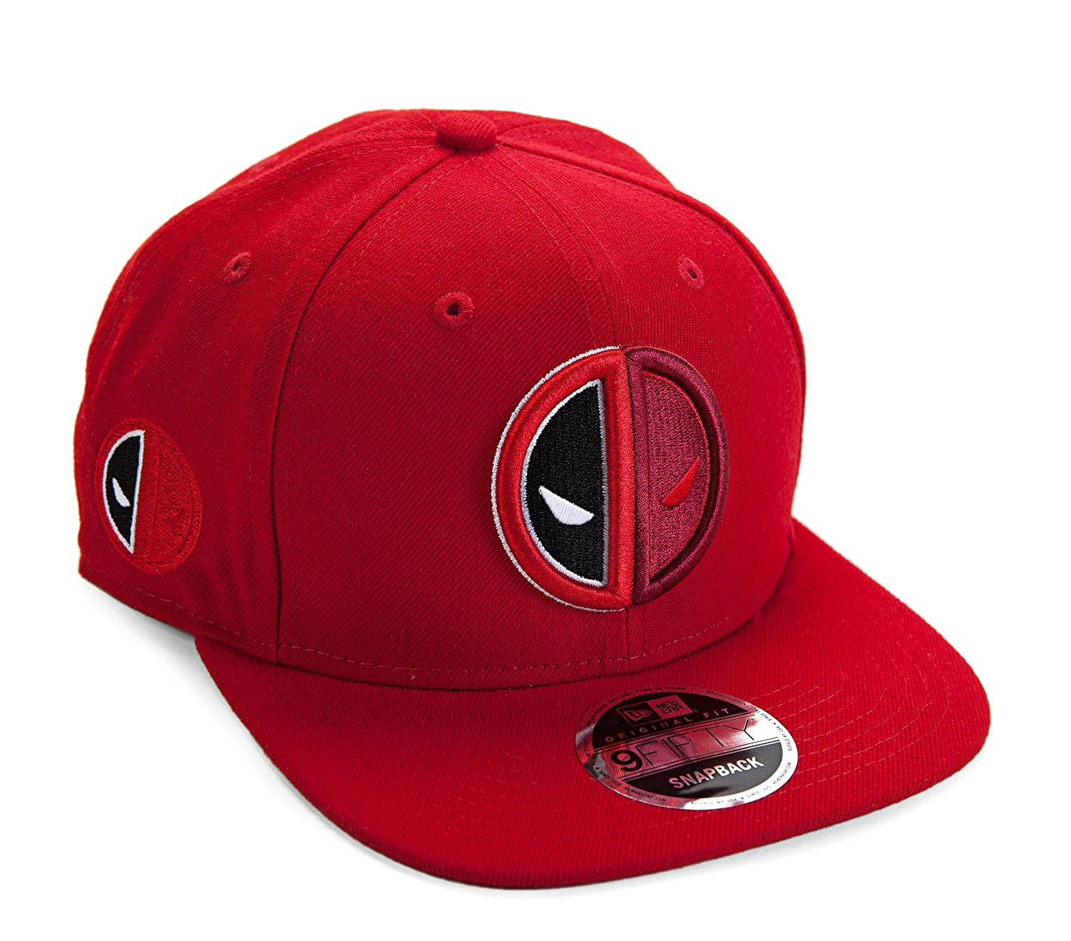 New Era Marvel Deadpool Symbol Split Side Snapback Gorra De ...