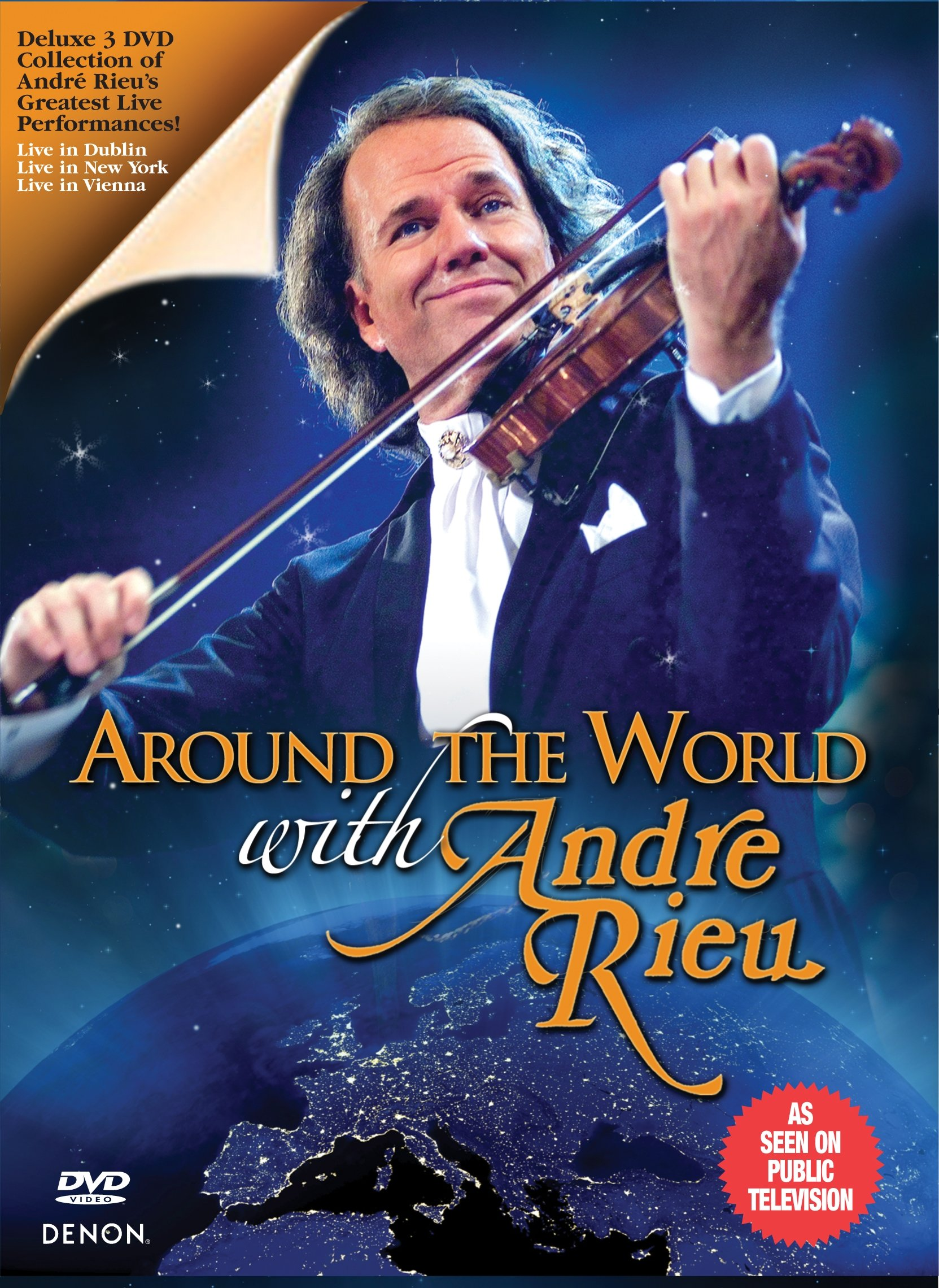 Andre Rieu - Around the World with Andre Rieu (Limited Edition, 3PC)