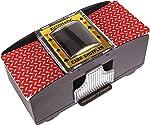 Battery Operated Automatic Card Shuffler, 2 Deck Card Shuffler for Home