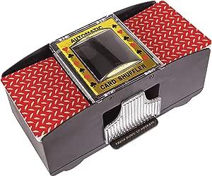 Battery Operated Automatic Card Shuffler, 2 Deck Card Shuffler for Home Card Games, Poker, Rummy, Blackjack