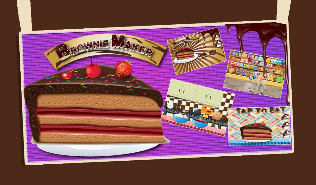 Amazon.com: Brownie maker - a chocolate cake baking game ...