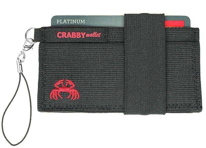 886cf0a440e Crabby Wallet – Minimalist Wallet – Super Slim Men's Wallet – Secure  Elastic Construction