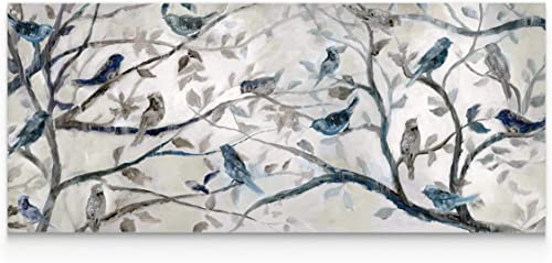 Wexford Home Morning Chorus' 3 Sizes Available Premium Gallery Wrapped Canvas Wall Art Print