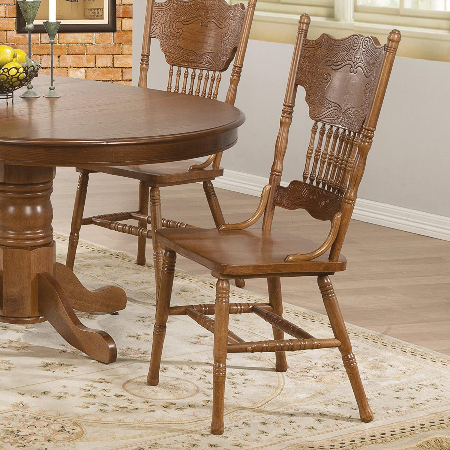 Amazon Coaster Home Furnishings Country Dining Chair