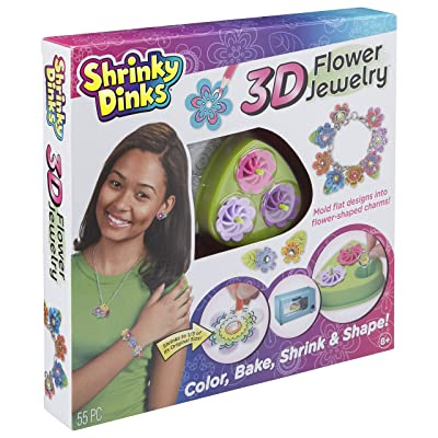 Shrinky Dinks 3D Flower Jewelry: Alex Toys: Toys & Games