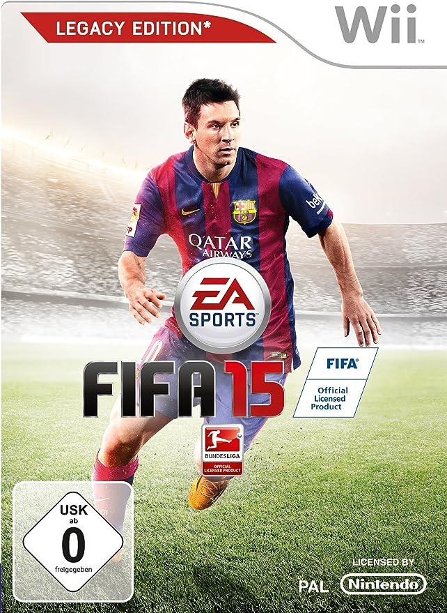 Electronic Arts FIFA 15 Legacy Edition, Wii - Juego (Wii, Nintendo ...
