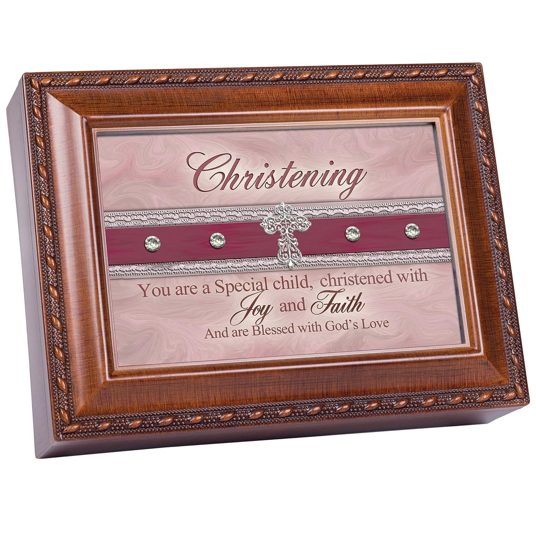 【2018年製 新品】 Cottage Garden洗礼式Woodgrain音楽ボックス/ジュエリーボックスPlays Jesus Loves Loves Me Me B00BRX3VB4 B00BRX3VB4, テスラ:73b648af --- arcego.dominiotemporario.com