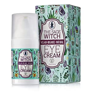 All Natural Organic Anti-Wrinkles Eye Cream Moisturizer - The Sage Witch By Spirit Nest