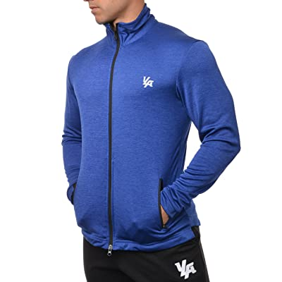 YoungLA Lightweight Jacket for Men Spring Summer Running Track Athletic Outerwear Dry Fit 308