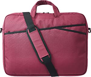 AmazonBasics Business Laptop Case Bag - 17-Inch, Maroon