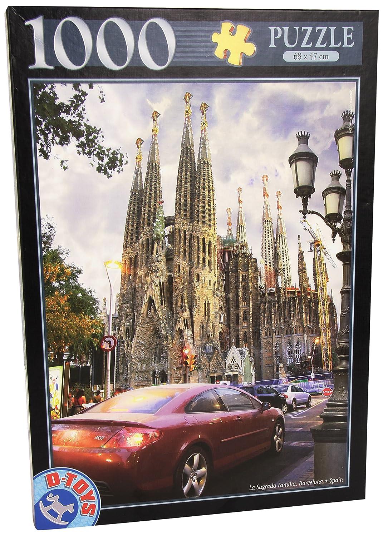 D-Toys - Famous Places La Sagrada Familia Barcelona Spain Puzzle ...