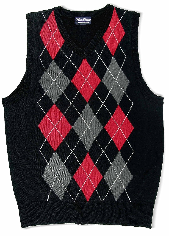 Blue Ocean Kids Argyle Sweater Vest SV-255-UKIDS