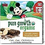 Pure Growth Organic Mickey Mouse Breakfast Bar, Chocolate Banana, 6 Ounce