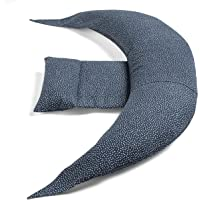 Nuvita 7100 DreamWizard Cojin Lactancia & Almohada Embarazo - 12 en 1 con Soporte…