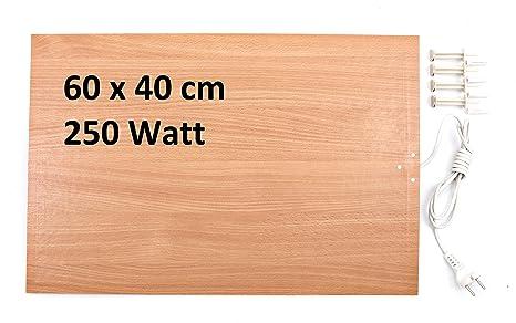 Riscaldamento a infrarossi 250 500 Watt piatto riscaldamento elettrico di  riscaldamento a infrarossi 87d1e101222