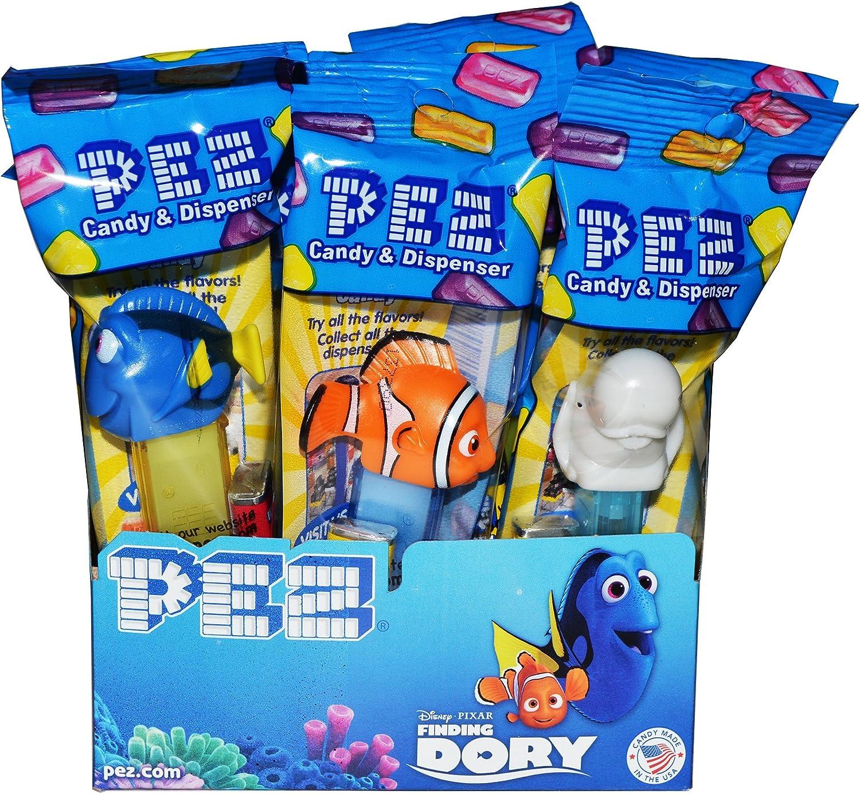Pez Finding Dory Candy Dispensers Pack of 12: Amazon.es: Alimentación y bebidas