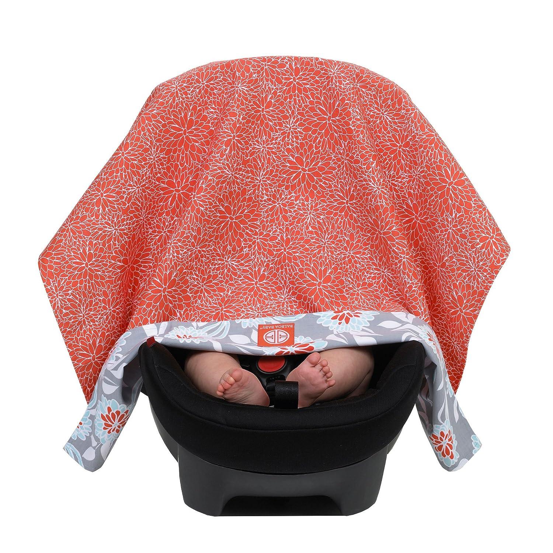 f235203d2fd Amazon.com  Balboa Baby Reversible Car Seat Canopy - Grey Dahlia  Baby