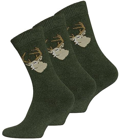 6 pares de calcetines cazador, calcetines para senderismo para hombre: Amazon.es: Ropa y accesorios