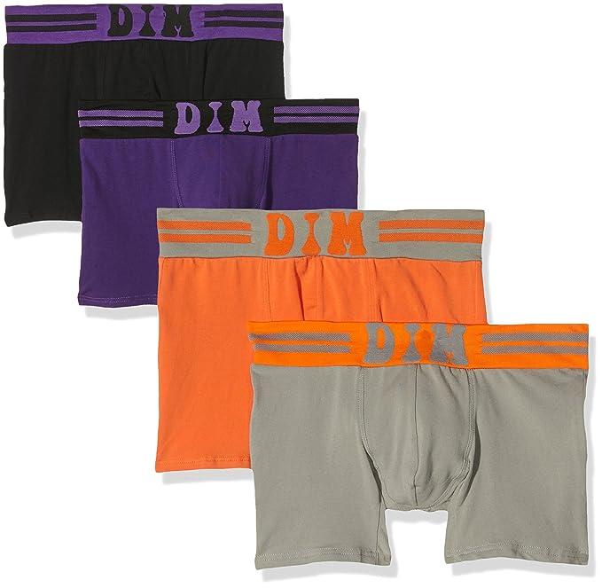 Dim Soft Touch 6657 - Calzoncillos para hombre, color Multicolore (Violet Foncé/Noir