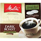 Melitta 75449 Dark Roast Soft Pod Pack 18 Count