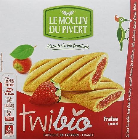 Le Moulin Du Pivert Delicia Fresa - Paquete de 12 x 150 gr - Total: 1800 gr: Amazon.es: Alimentación y bebidas