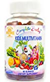 Complete Body™ Kid Multivitamin Gummies| A,C,D,E,B6,B12 Top Essential Vitamins & Minerals| Supports Immune, Energy, Metabolism + Choline/Inositol for Focus |No Sugar Coating|Gluten Free|non GMO