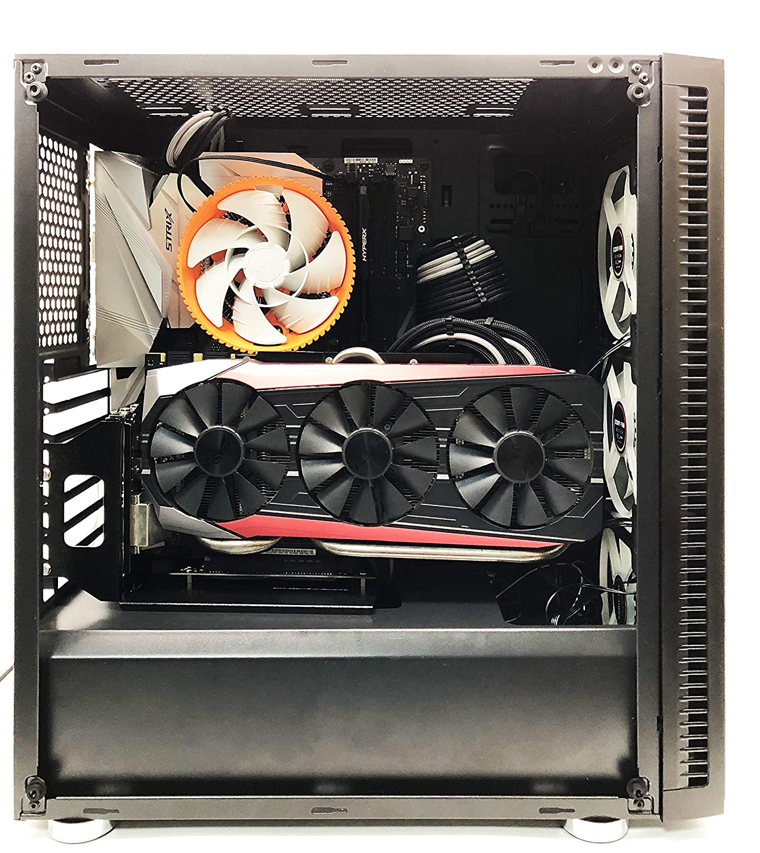 EZDIY-FAB Kaislin Kit de Soporte de Tarjeta de gráficas Vertical con Cable Vertical GPU