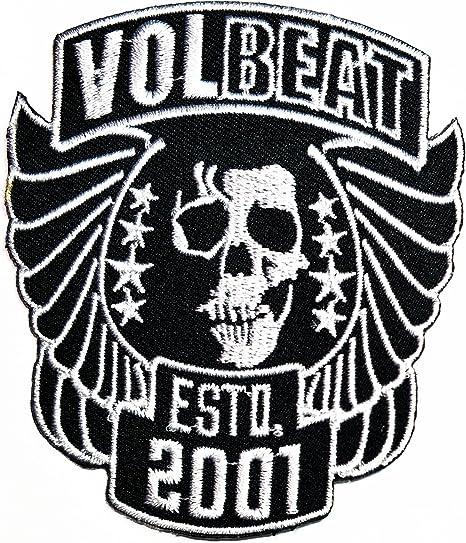 Negro calavera Volbeat música banda Heavy Metal Punk Rock Logo ...