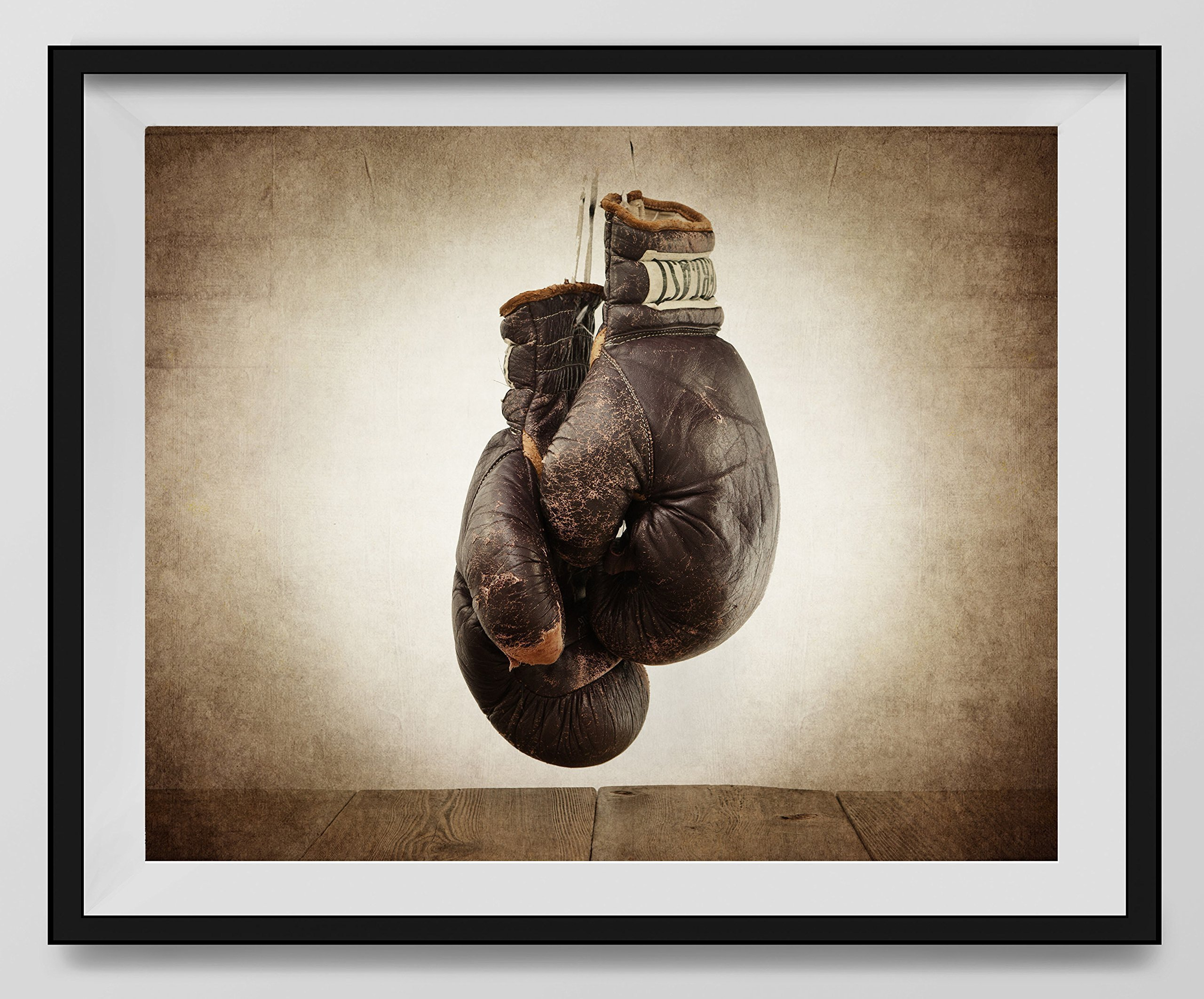Vintage Boxing Gloves on Vintage Background Fine Art Photography Print, Sports Decor, Boxing decor, Man Cave art, Vintage Sports Nursery Art,Boxing Gloves, Nursery decor, Kids Room Wall Art.